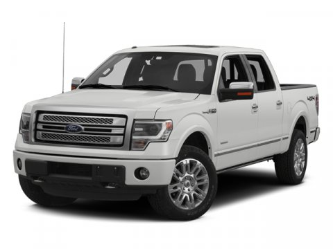 2014 Ford F-150 Platinum Ingot Silver MetallicPLATINUM PECAN LEATHER BUCKET BLACK INTERIOR V8 50