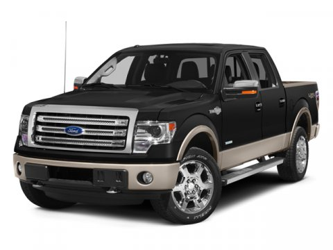 2014 Ford F-150 King Ranch 4X4 White Platinum Metallic Tri-CoatPale Adobe V8 50  L Automatic 3