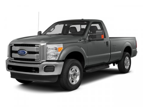 2014 Ford Super Duty F-250 SRW XL Oxford WhiteAs Vinyl 402040 Seats Steel V8 62 L Automatic 6