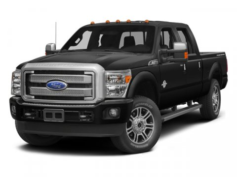 2014 Ford Super Duty F-250 SRW Platinum White Platinum Metallic Tri-CoatPecan V8 67 L Automatic