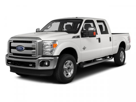 2014 Ford Super Duty F-350 SRW Ug White Platinum Met Tri-Coat5B Leather 40Console40 Seat Black