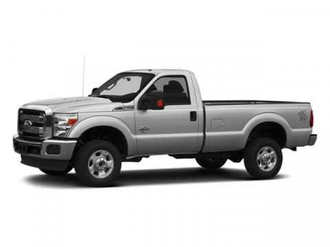 2014 Ford Super Duty F-350 SRW XL Oxford WhiteAs Vinyl 402040 Seats Steel V8 62 L Automatic 4