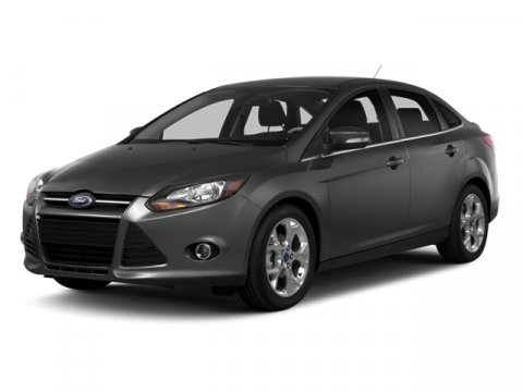 2014 Ford Focus Titanium Tuxedo Black Metallic2W Leather-Trim Sport Bkt Seats Charcoal Black Trim