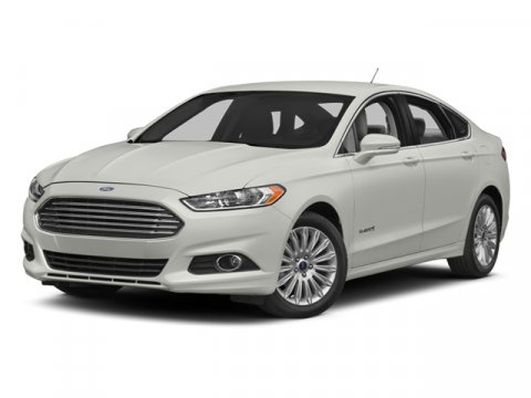 2014 Ford Fusion SE Hybrid Ruby Red Metallic Tinted ClearcoatBw Leather Seating Charcoal Black V4