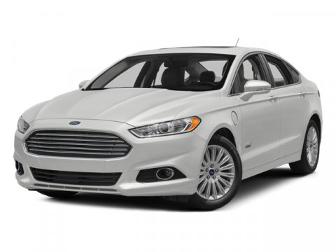 2014 Ford Fusion Energi Titanium White Platinum Tri-Coat MetallicCharcoal Black V4 20 L Variable