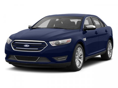 2014 Ford Taurus SEL White V6 35 L Automatic 3 miles The Ford Taurus has aggressive front and