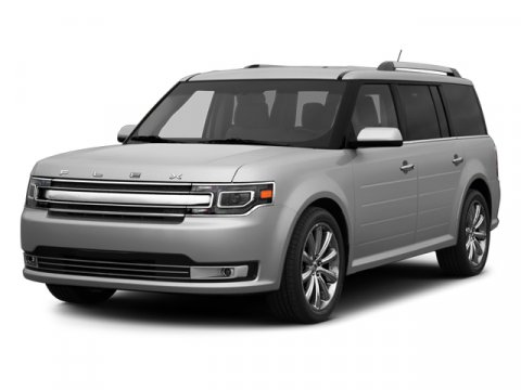2014 Ford Flex SEL White Platinum Metallic Tri-CoatCHAR BLK LEATHER V6 35 L Automatic 0 miles
