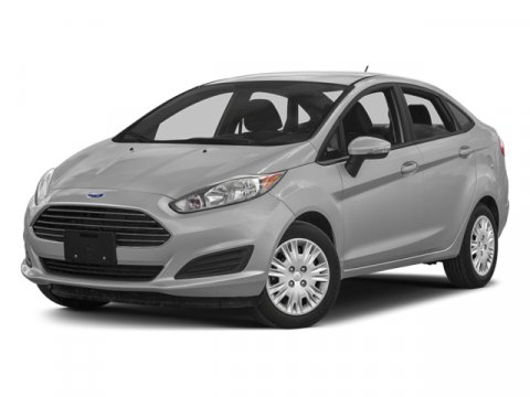 2014 Ford Fiesta Titanium Green Envy Metallic Tri-CoatDs Leather Trimmed Seats Medium Light Stone