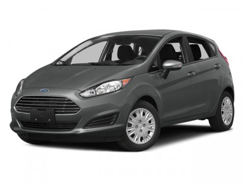 2014 Ford Fiesta Titanium Storm Gray MetallicDd Leather Trimmed Seats Charcoal Black V4 16 L Man