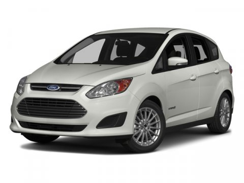 2014 Ford C-Max Hybrid SEL White Platinum Metallic Tri-CoatFl Leather Seats Medium Light Stone V4