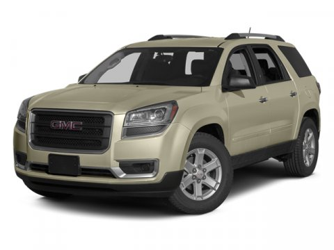 2014 GMC Acadia SLT Carbon Black Metallic222 DARK CASHMERE V6 36L Automatic 696 miles  AUDIO S