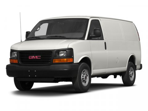 2014 GMC Savana Cargo Van Work Van Summit White V8 48L Automatic 10889 miles  Convenience Pac