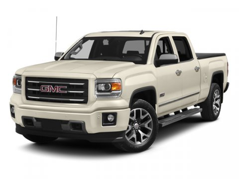 2014 GMC Sierra 1500 SLT Summit WhiteH2W JET BLACK V8 53L Automatic 5 miles  ALL TERRAIN SLT C