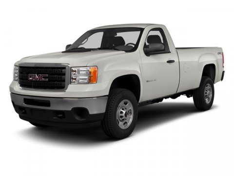 2014 GMC Sierra 3500HD Work Truck Summit WhiteDark Titanium V8 60L Automatic 5 miles  AUDIO SY