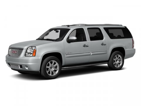 2014 GMC Yukon XL Denali White Diamond TricoatEbony V8 62L Automatic 5 miles  EBONY PERFORATED