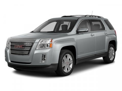 2014 GMC Terrain SLT Champagne Silver Metallic V6 36L Automatic 3 miles The Terrain is the Cro