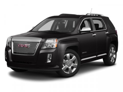 2014 GMC Terrain Denali Iridium MetallicJET BLACK V6 36L Automatic 5 miles  AUDIO SYSTEM COLOR