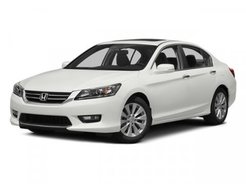 2014 Honda Accord Sedan EX-L with Navi Crystal Black PearlBlack V4 24 L Variable 0 miles  Fron
