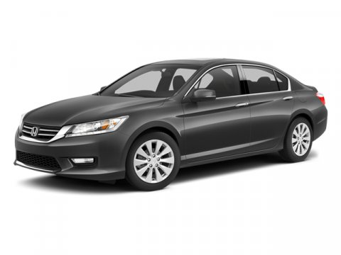 2014 Honda Accord Sedan EX-L Crystal Black PearlIvory V6 35 L Automatic 5 miles  CRYSTAL BLACK