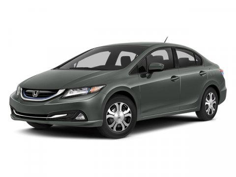 2014 Honda Civic Hybrid FWD Modern Steel MetallicBeige V4 15 L Variable 12820 miles One Owner