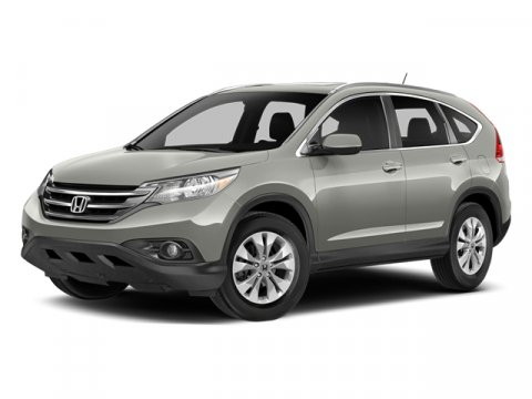 2014 Honda CR-V EX-L with Navi Twilight Blue MetallicGray V4 24 L Automatic 7 miles  All Wheel