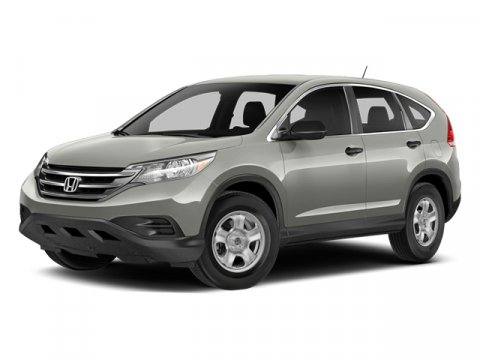 2014 Honda CR-V LX White Diamond PearlGray V4 24 L Automatic 7 miles  All Wheel Drive  Power