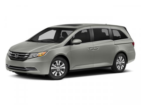2014 Honda Odyssey EX-L with RES Alabaster Silver MetallicGray V6 35 L Automatic 7 miles  Fron