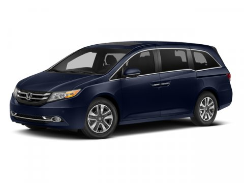 2014 Honda Odyssey Touring Elite FWD Alabaster Silver MetallicGray V6 35 L Automatic 47051 mil