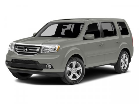 2014 Honda Pilot EX-L Dark Cherry PearlBeige V6 35 L Automatic 6 miles  BEIGE LEATHER-TRIMMED