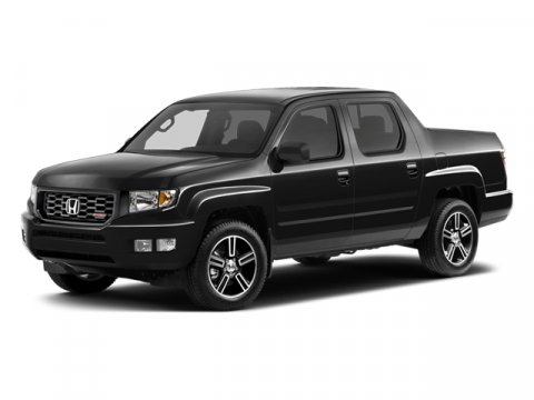 2014 Honda Ridgeline Sport Crystal Black PearlBlack V6 35 L Automatic 5 miles  BLACK CLOTH SEA