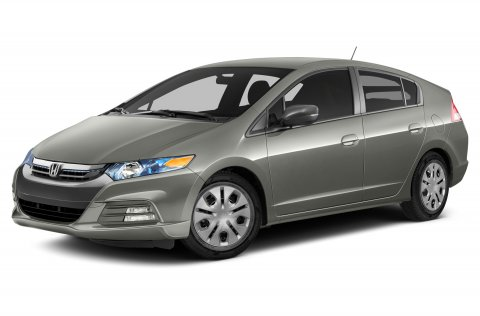 2014 Honda Insight LX Polished Metal MetallicNH-737MGRAY V4 13 L Variable 5 miles  GRAY FABRI