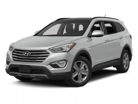 2014 Hyundai Santa Fe GLS Monaco WhiteGray V6 33 L Automatic 4 miles  All Wheel Drive  Power