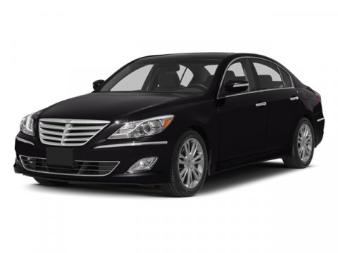 2014 Hyundai Genesis 38L Night Shadow BrownCashmere V6 38 L Automatic 5 miles Recognized by J