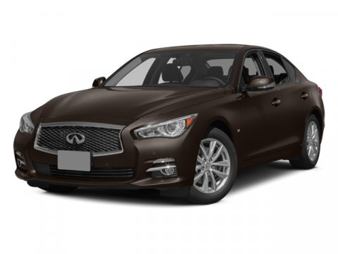 2014 Infiniti Q50 Premium Moonlight White V6 37 L Automatic 26755 miles Prior Rental - MAGNIF