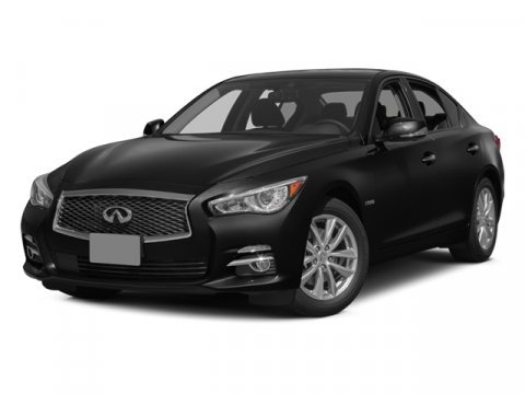 2014 Infiniti Q50 Hybrid Sport Moonlight WhiteDELNAV V6 35 L Automatic 6281 miles Dont let t