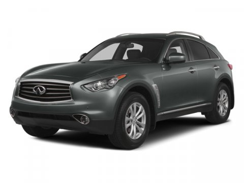 2014 Infiniti QX70 Moonlight WhiteBlack V6 37 L Automatic 18133 miles ELEGANT ONE OWNER INFINI