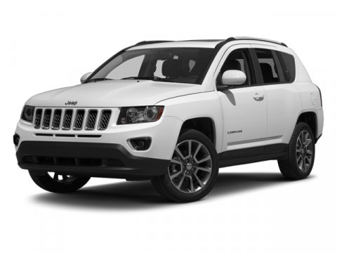 2014 Jeep Compass Sport Bright White ClearcoatDark Slate Gray V4 24 L Automatic 9086 miles THI