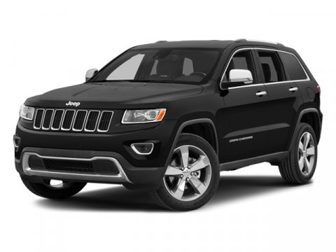2014 Jeep Grand Cherokee Limited Brilliant Black Crystal Pearlcoat V6 36 L Automatic 1 miles