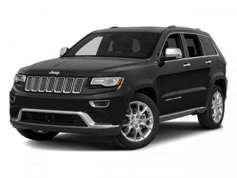 2014 Jeep Grand Cherokee Overland Bright White Clearcoat V8 57 L Automatic 1 miles Comes with