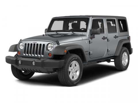 2014 Jeep Wrangler Unlimited Bright White ClearcoatBlack V6 36 L Automatic 5 miles  410 REAR