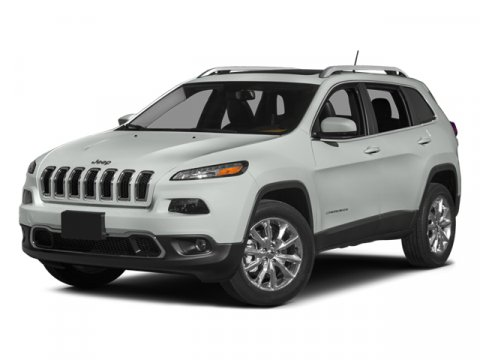 2014 Jeep Cherokee Limited True Blue PearlcoatBlack V6 32 L Automatic 5 miles  BLACK LEATHER T