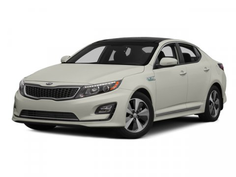 2014 Kia Optima Hybrid LX Snow White Pearl V4 24 L Automatic 112 miles  BUMPER APPLIQUE  CARG