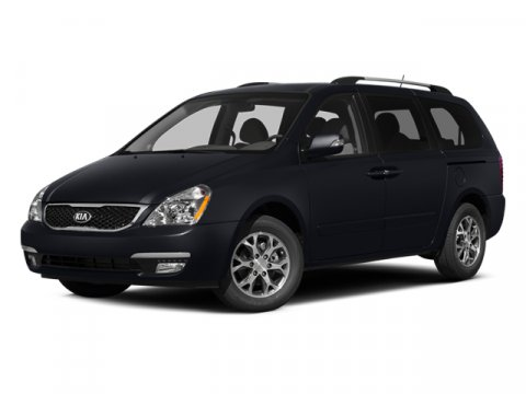 2014 Kia Sedona LX Gray V6 35 L Automatic 8 miles  Front Wheel Drive  Power Steering  ABS