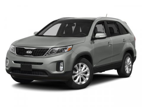 2014 Kia Sorento LX Ebony BlackGray V4 24 L Automatic 0 miles  3RD ROW SEAT  BLACK CROSS BARS