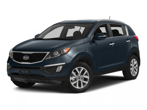 2014 Kia Sportage LX Twilight BlueGray V4 24 L Automatic 11 miles  All Wheel Drive  Power Ste