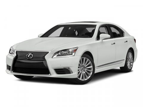2014 Lexus LS 460 RWD BlackBlackSaddle Tan wBurl V8 46 L Automatic 43408 miles One Owner B