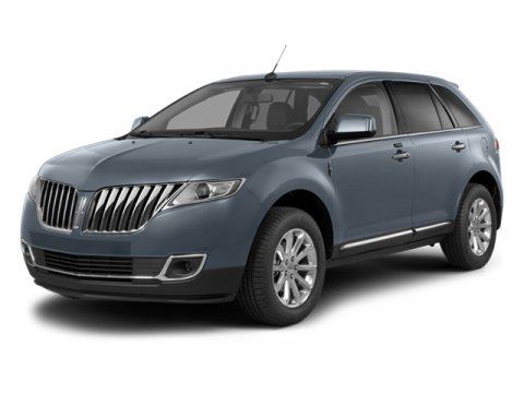 2014 Lincoln MKX White Platinum Metallic Tri-CoatCanyon wBlack Piping V6 37 L Automatic 1 mile