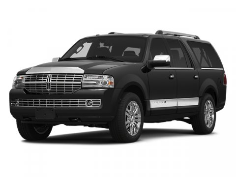 2014 Lincoln Navigator L Tuxedo Black MetallicCanyon wCharcoal Piping V8 54 L Automatic 6 mile