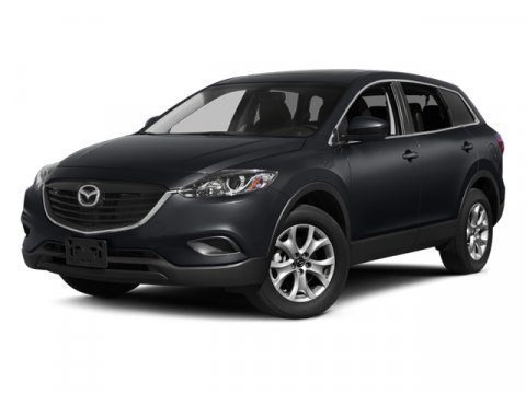 2014 Mazda CX-9 Sport Meteor Gray MicaBlack V6 37 L Automatic 15 miles  BLACK CLOTH SEAT TRIM