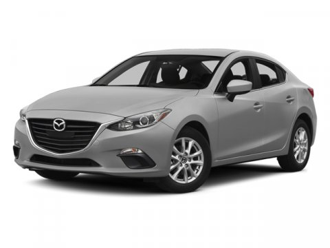 2014 Mazda Mazda3 i Grand Touring Deep Crystal Blue MicaBlack V4 20 L Automatic 5 miles  BLACK